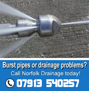 blocked drains Norfolk and Suffolk